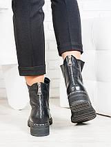 Ботинки Bru черная кожа , фото 3
