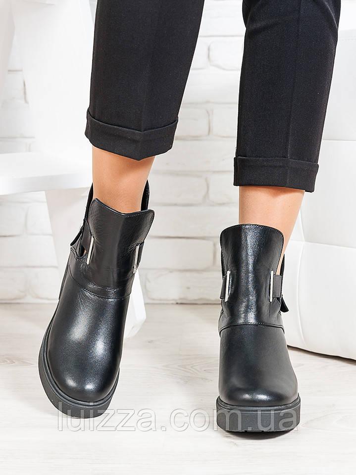 Ботинки кожаные Deizi 36-40р