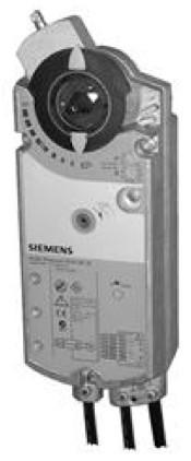Siemens GCA166.1E, 18 Nm, возвр. пружина, 0-10 В, 24 В AC/DC, 2 доп.контакта
