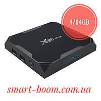 Смарт тв приставка X96 Max 4/64Gb Smart Tv Box S905X2 Android 8.1 Смарт Тв Бокс