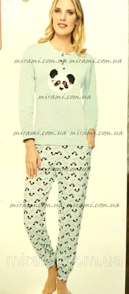 Женские пижамы с брюками на манжете из интерлока fad0144e2e12b