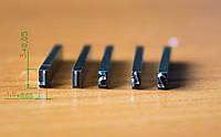 Клейма ударные (цифры, буквы), клейма вставки (цифры, буквы)