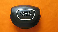 Накладка, заглушка на подушку безопасности, имитация Airbag, крышка в руль на Audi A7, A8