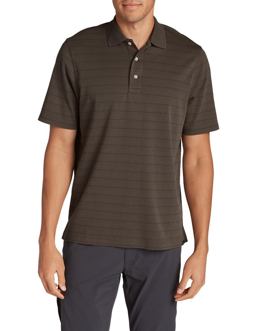 Поло рубашка Eddie Bauer Voyager II Performance Short-Sleeve Polo Shirt L