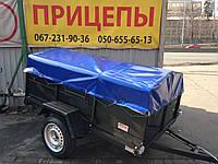 Прицеп бортовой ПАВАМ усиленный борт 45см, фото 1