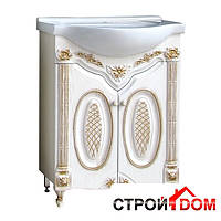 Тумба Атолл (Ольвия) Наполеон-275 белый жемчуг, патина золото
