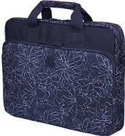 """Женская оригинальная сумка для ноутбука 15"""" - 15,6"""" Continent CC-032 Blueprints синий"""