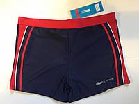 Плавки-шорты мужские Atlantic (полубатал) синий с красным