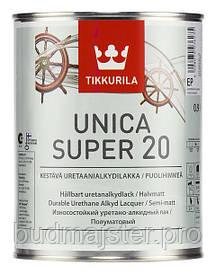 Лак Tikkurila Уніка супер півматовий,0,9 л