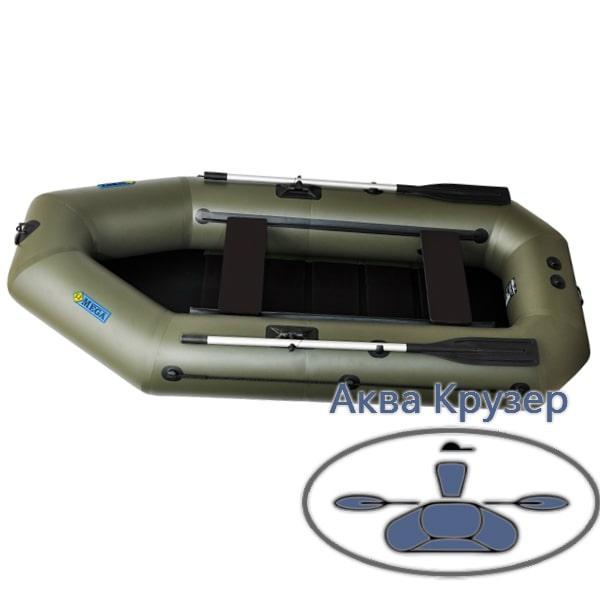 Лодка надувная пвх omega Ω 280 LST (PS) с навесным транцем, сланью и  передвижными сиденьями