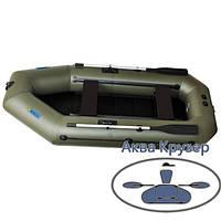 Човен надувний пвх omega Ω 280 LST (PS) з навісним транцем, сланью і пересувними сидіннями, фото 1