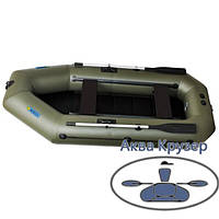 Лодка надувная пвх omega Ω 280 LST (PS) с навесным транцем, сланью и  передвижными сиденьями, фото 1