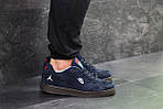 Мужские кроссовки Nike Jordan (Темно-синие) , фото 4