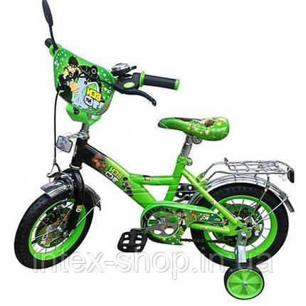 """Велосипед детский мульт 12"""" P 1232B Зелёный B10, NEW, фото 2"""