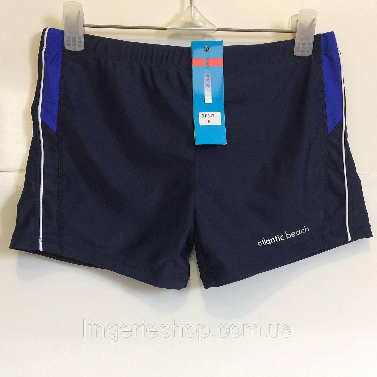 Плавки-шорты мужские Atlantic синий с электрик