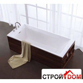 Встраиваемая ванна с переливом Aqua-World ARTISTIC BATH AC0905 АВ0905 белая