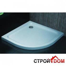 Полукруглый душевой поддон Aqua-World ST100100R ДКп61-100R белый