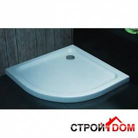 Полукруглый душевой поддон Aqua-World ST12090R ДКп61-120R (L) белый, левосторонний