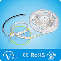 Красная 14,4W SMD5050 (60 LED/м) (r) 620-625nm Indoor IP33 Premium