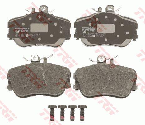 Тормозные колодки передние MERCEDES C180 W202 03.1993 - 05.2000