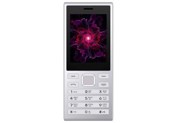 Кнопочный телефон с выходом в интернет Opera Mini и Facebook и хорошей камерой 2Мп Nomi i247 серебристый