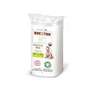 Органические ватные диски детские большие Bocoton,60 шт.