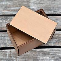 Коробка из фанеры с раздвижной крышкой. + Возможность нанесения вашего логотипа.