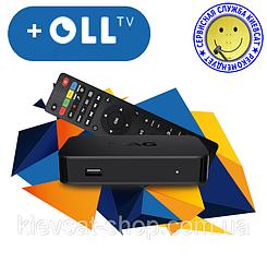 """MAG 322   OLL TV пакет """"Старт"""", подписка 12 месяцев до 3 устройств, Linux, OLL"""