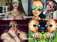 Очки Ray Ban со стеклянными зелеными линзами, фото 1
