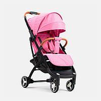 Коляска YOYA PLUS 3 Розовая (утепление и сумка для мамы в подарок) йойа плюс 3,бесплатная доставка