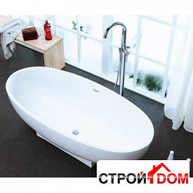 Отдельностоящая ванна с переливом Aqua-World ARTISTIC BATH AC1170 АВ1170 белая