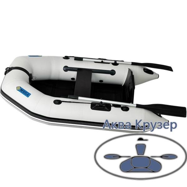 Надувні моторні човни ПВХ Omega Ω 210 М (стаціонарний транец, плоскодонна)
