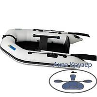 Моторные надувные лодки ПВХ Omega Ω 210 М (стационарный транец, плоскодонная), фото 1