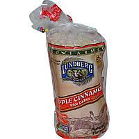 Lundberg, Рисові хлібці з яблуком та корицею, 9,5 oz (269 м)