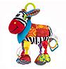 Игрушка с грызунком Ослик Дейв Balibazoo (Высота 26 см), фото 6