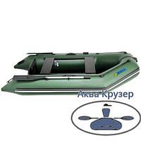 Моторная лодка ПВХ Omega Ω 270 М  (слань, аирдек, слань-книжка), фото 1