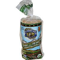 Lundberg, Органічні рисові хлібці з соєвим соусом і морськими водоростями, 8,5 унцій (241 г)