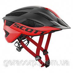 Велосипедная каска SCOTT ARX MTB PLUS  красно- черная