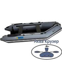Човен моторний ПВХ Omega Ω 300 М (плоске дно) слань, книжки, AirDeck