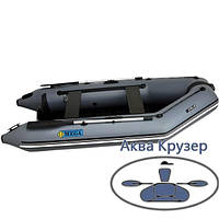 Лодка моторная ПВХ Omega Ω 300 М  (плоское дно) слань, книжки, AirDeck