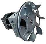 Вытяжной дымосос для твердотопливного котла МplusM Улитка WWK 180/60W Ø-180 (диаметр дымохода 180мм), фото 3