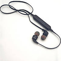 Беспроводные наушники с микрофоном Bluetooth гарнитура AWEI A960BL черные