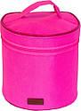 Круглый органайзер для косметики (Розовый), фото 6