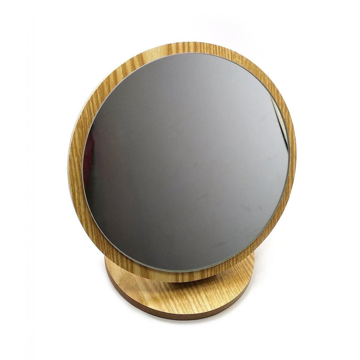 Зеркальце настольное круглое (d-19 см h-20.5 см)