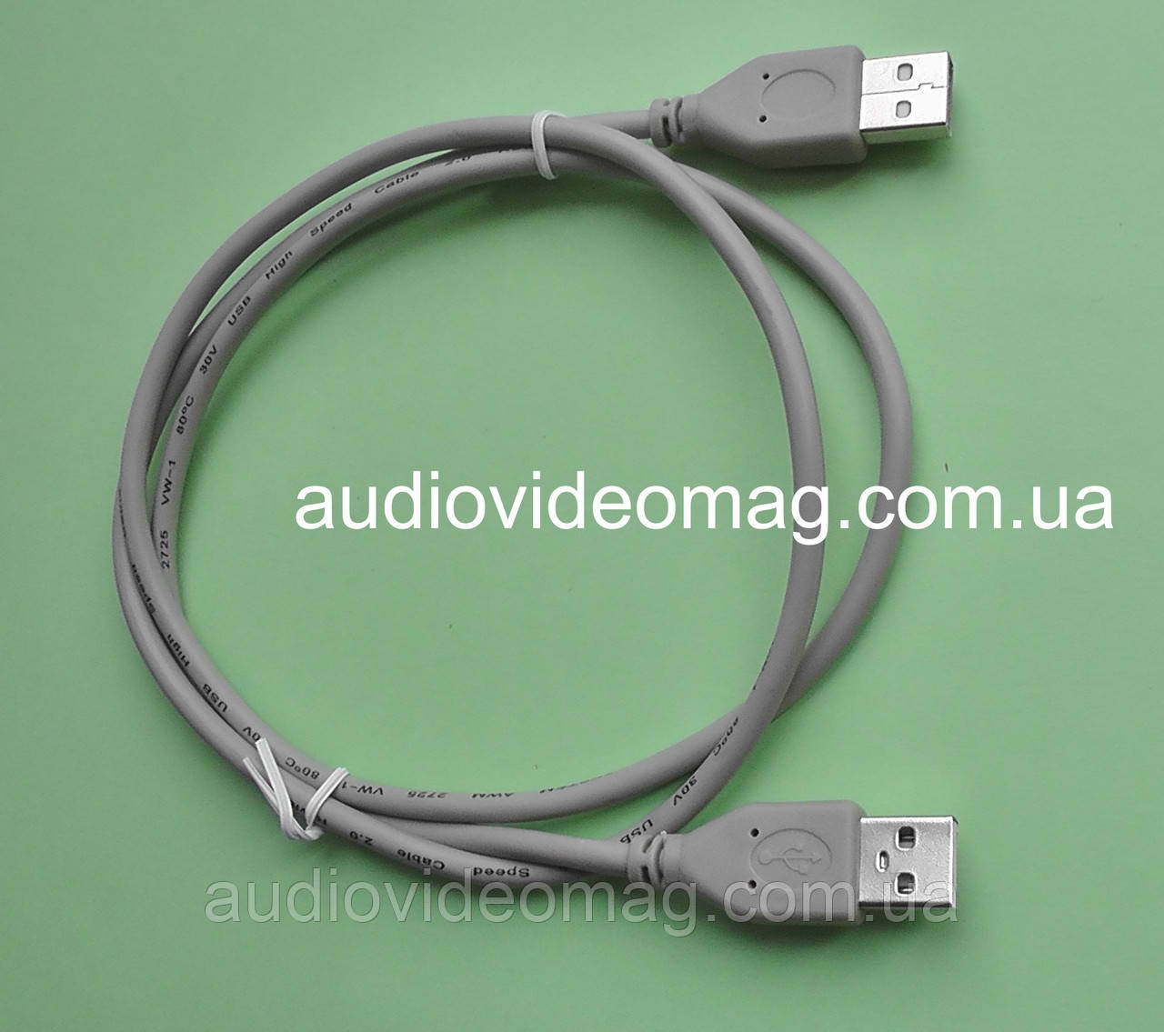 Кабель USB штекер-штекер , длина 1 метр