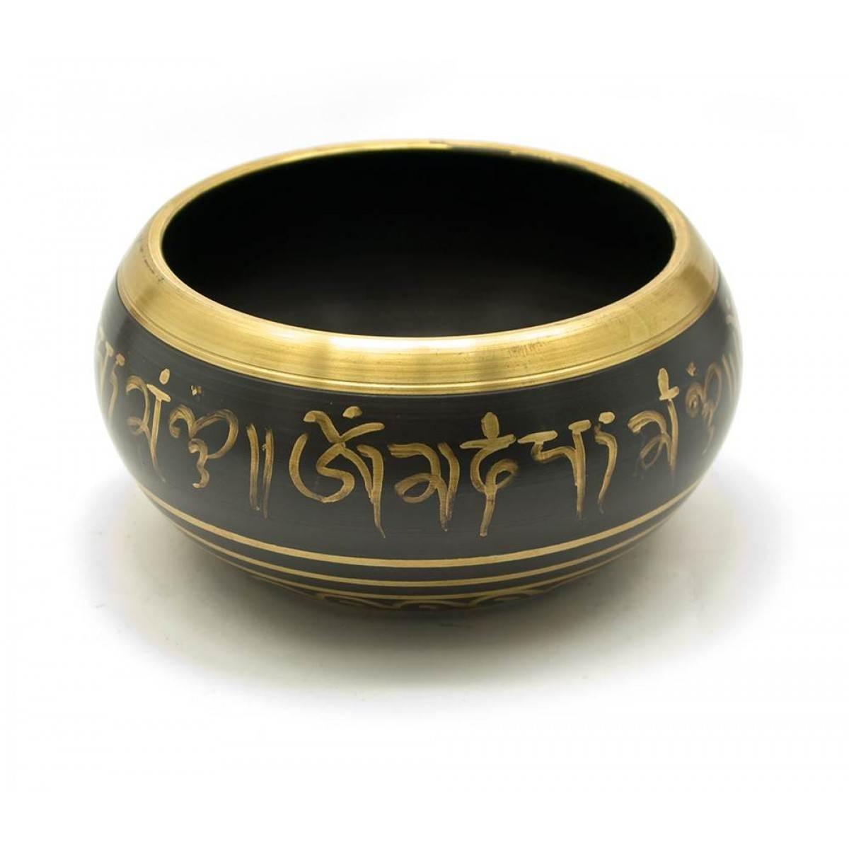 Чаша поющая Будда (без резонатора)(d-13,5 см h-6,5 см)