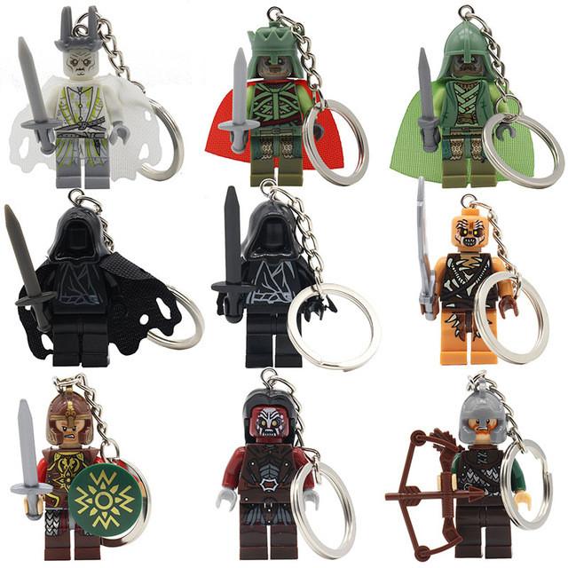 Фигурки Властелин колец Lord of the Rings Лего Lego брелок