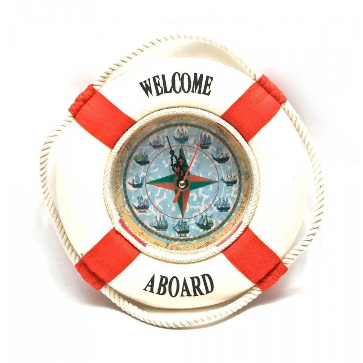Часы Спасательный круг (d-20 см)(20800)