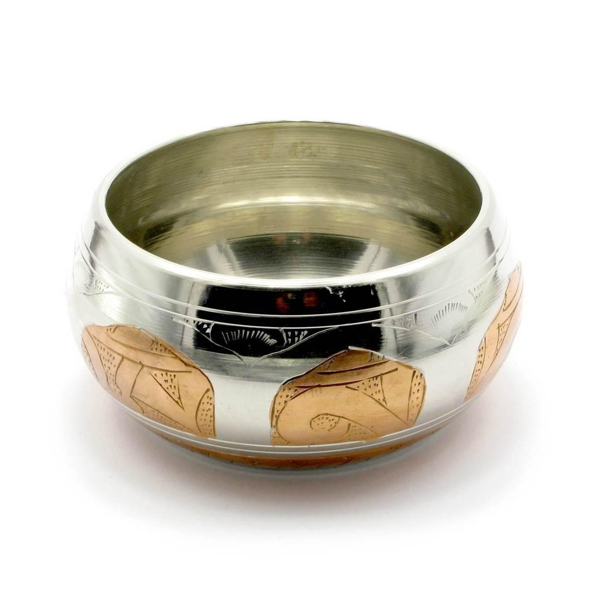 Чаша поющая (без резонатора)(d-11,5 h-5,5 см)(550 г.)