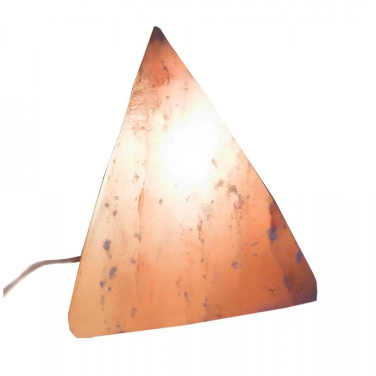 Соляная лампа (S-037) Пирамида 3кг. (18х18х18см)(4 шт ящ.)(Гималайская соль)